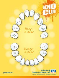 ZahnpiratSparen Zahnkarte